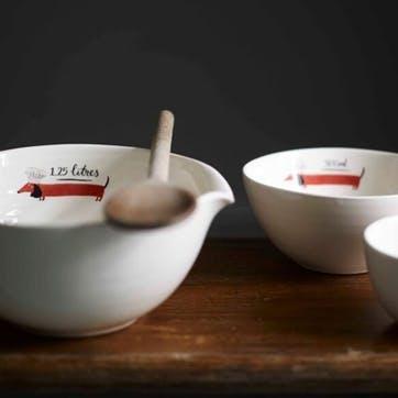Dachshund Nesting Bowl, Set of 3