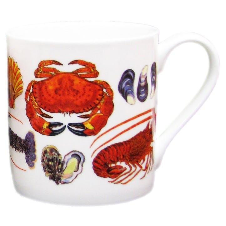 Shellfish Large Mug - 9cm x 8cm