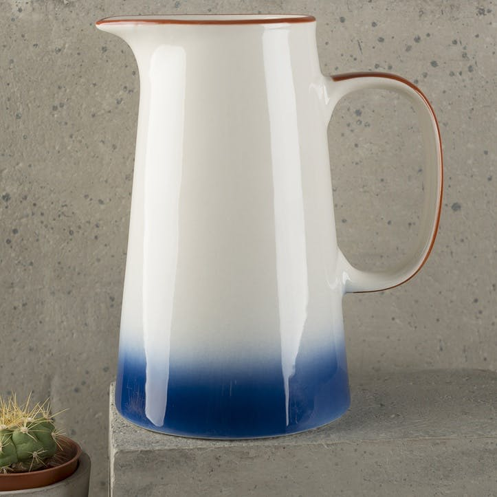 Drift Blue Ombre Jug, Large