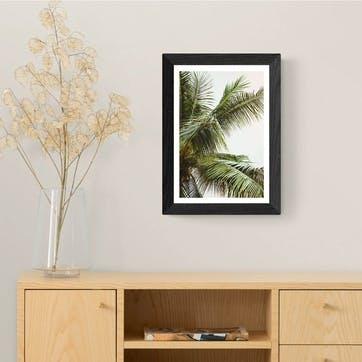 Honeymoon Hotel, Palms Above Me Framed Art Print