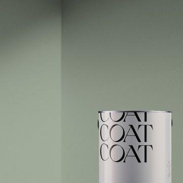 Flat Matt Wall & Ceiling Paint, Home Grown Green 2.5L