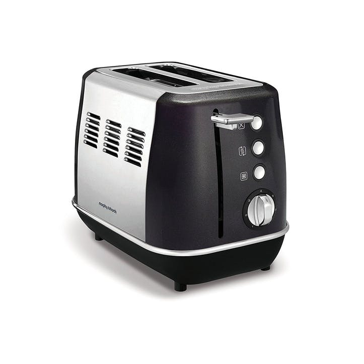 Evoke 2 Slice Toaster; Black