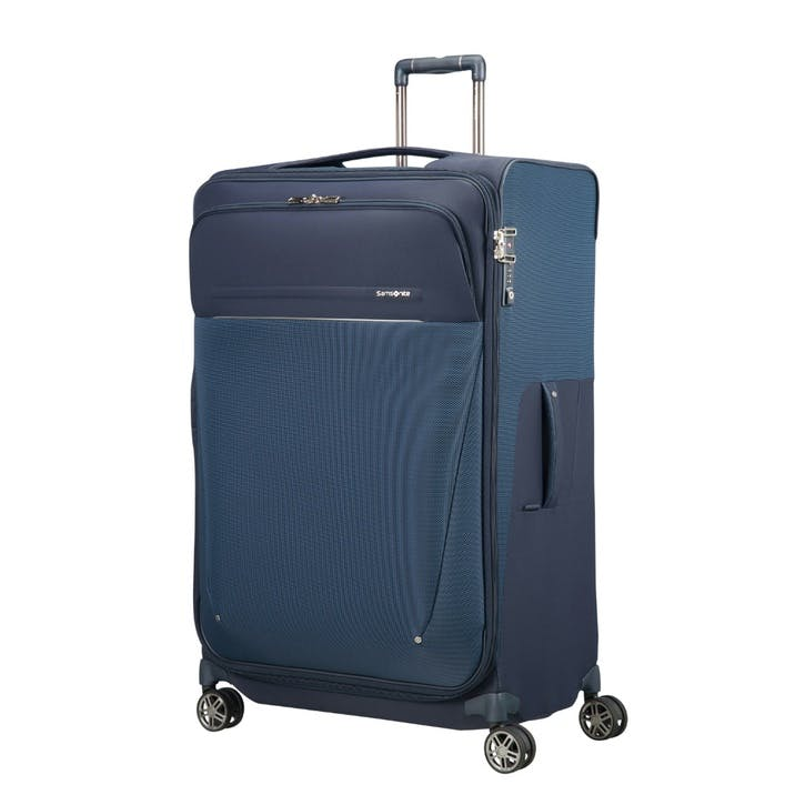B-Lite Icon Spinner Expandable Suitcase, 83cm, Dark Blue