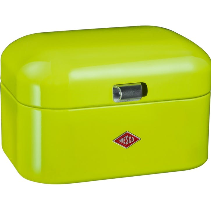 Single Grandy Bread Bin, Lime Green