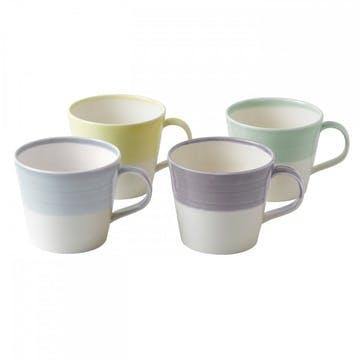 1815 Light Mug, Set of 4