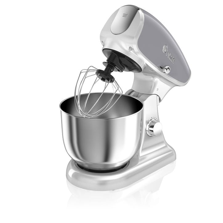Retro Stand Mixer, Grey