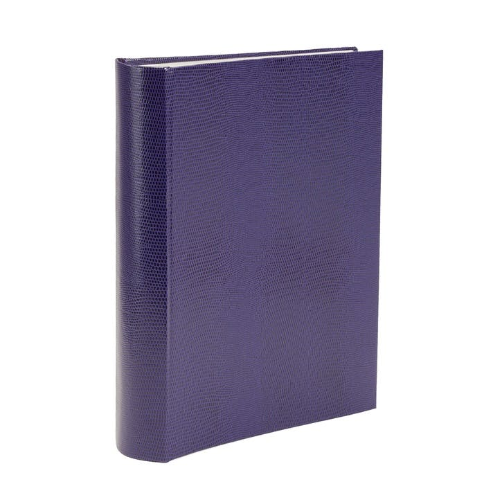 Jubilee Faux-Leather Slip In Album, Amethyst
