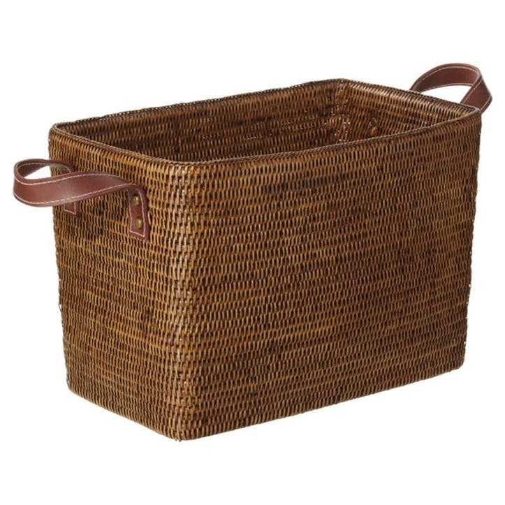 Rattan Fairfax Basket, Small