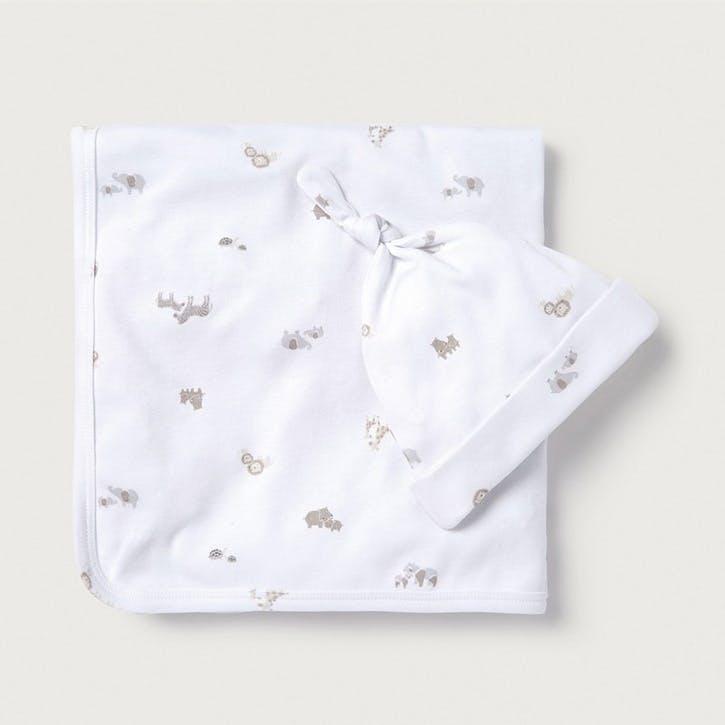 Animal Luxury Baby Gift Set, 0-3 months