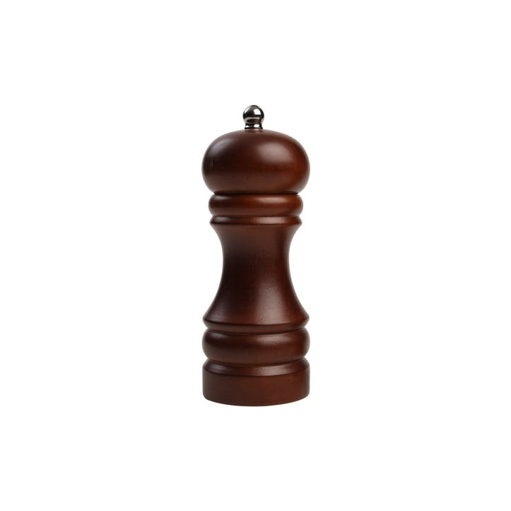 Classic Capstan Pepper Mill, Dark Stained