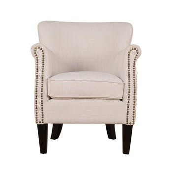 Greyhound Chair, Cream