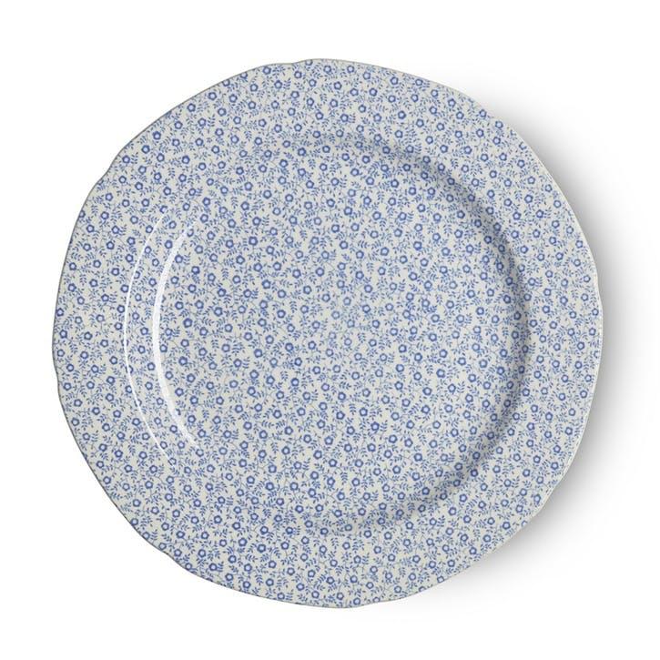 Felicity Plate, 26.5cm, Pale Blue