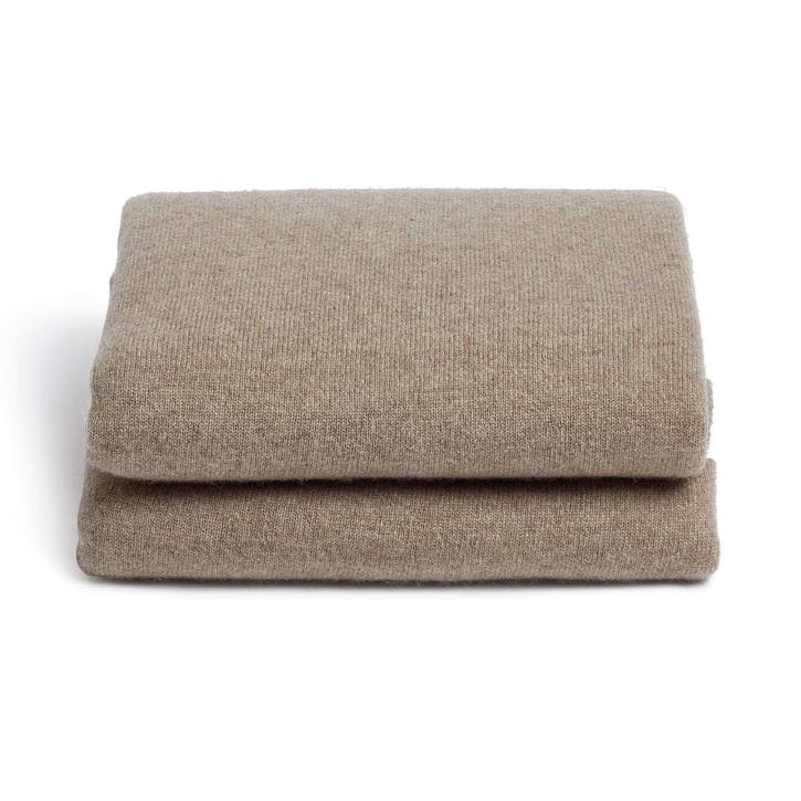 Cashmere Cinema Blanket, Natural