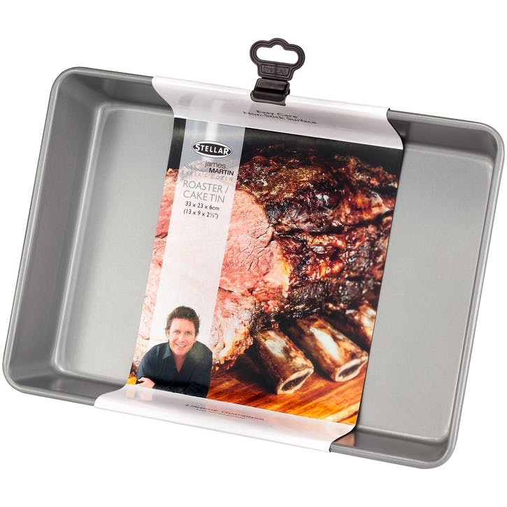 James Martin Bakers Dozen Cake Tin/Roaster , 33 x 23 x 6cm