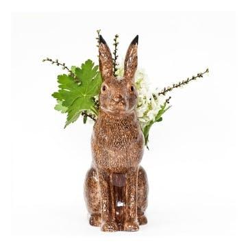 Hare Flower Vase, H31cm