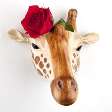 Giraffe Wall Vase, H16cm