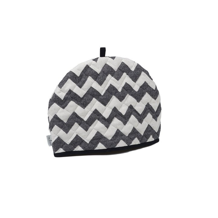 Chevy Tea Cosy, Black/Linen