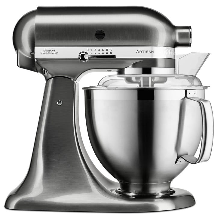 Artisan Stand Mixer with FREE Glass Mixing Bowl, 4.8L, Brushed Nickel