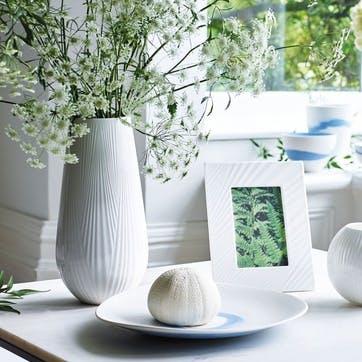 White Folia Photo Frame, Large