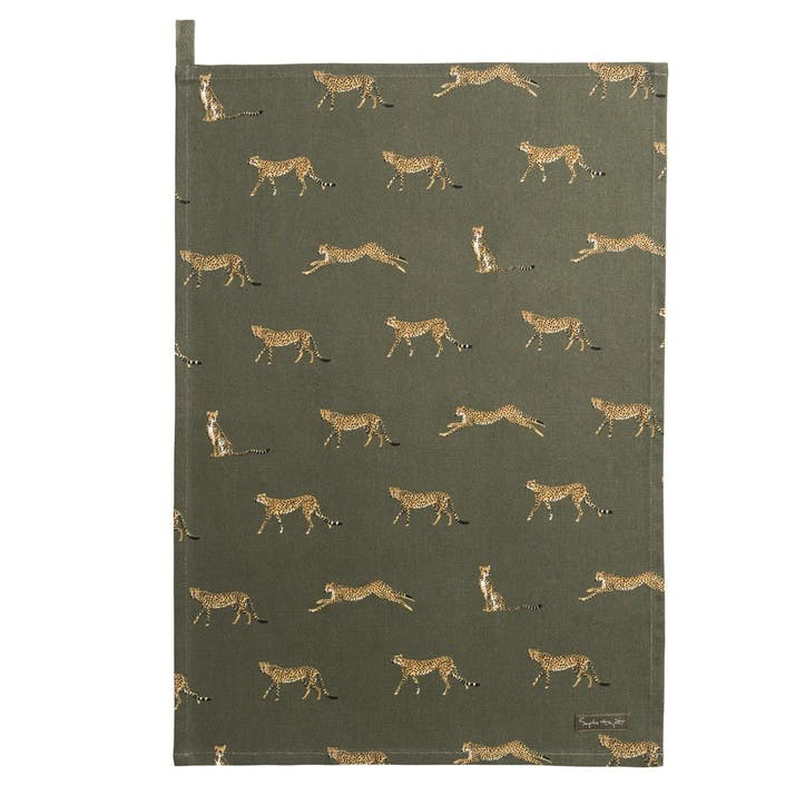 ZSL 'Cheetah' Tea Towel