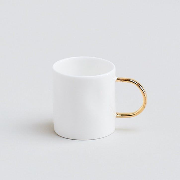 Gold Espresso Mug, 2.5oz