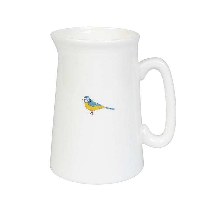 'Garden Birds' Jug, Small