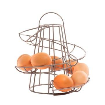 Helter Skelter Egg Store in Grey