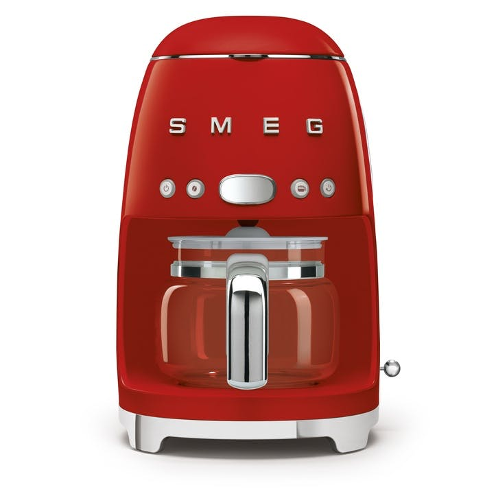 Drip Coffee Machine; Red