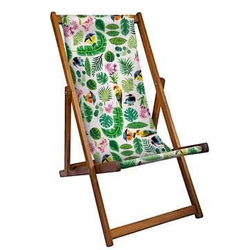 Deckchair Tropical Birds