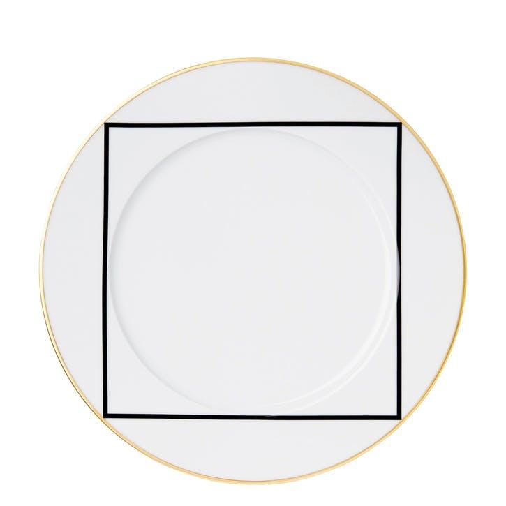 Ca' D'Oro Gold Rimmed Dinner Plate
