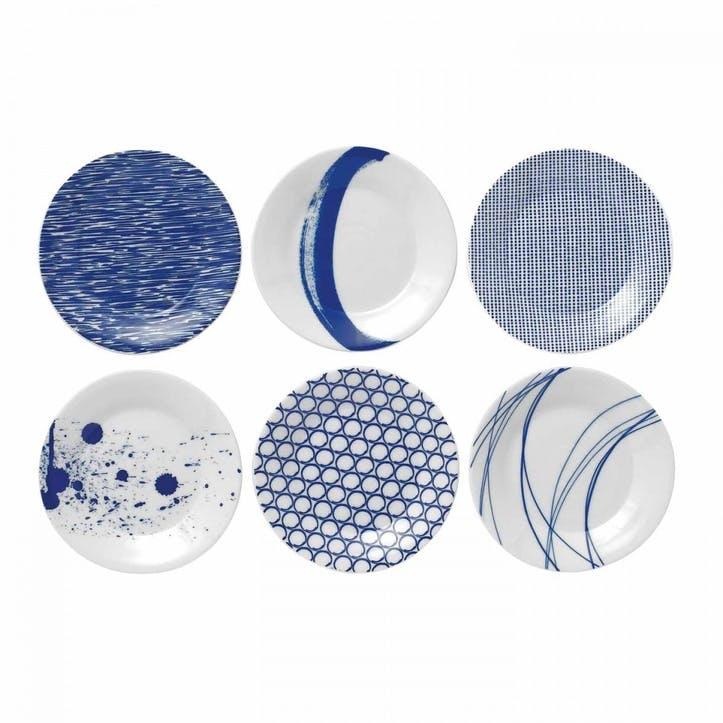 Pacific Dessert Plates, Set of 6