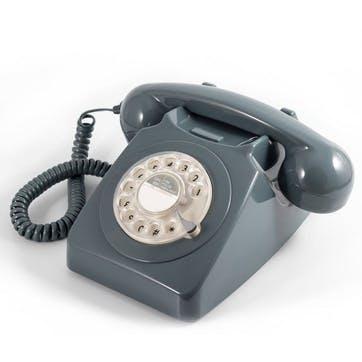 746 Rotary Telephone; Grey