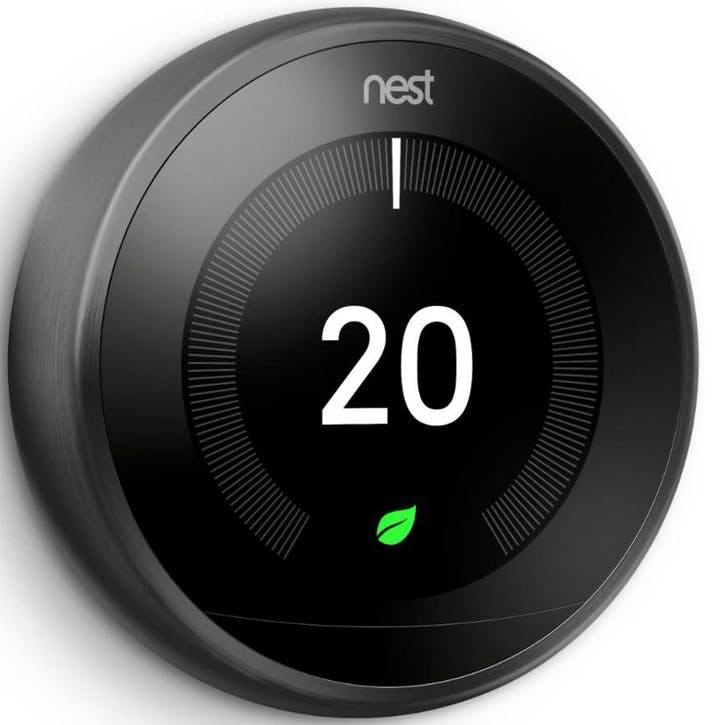 Learning Thermostat, Black