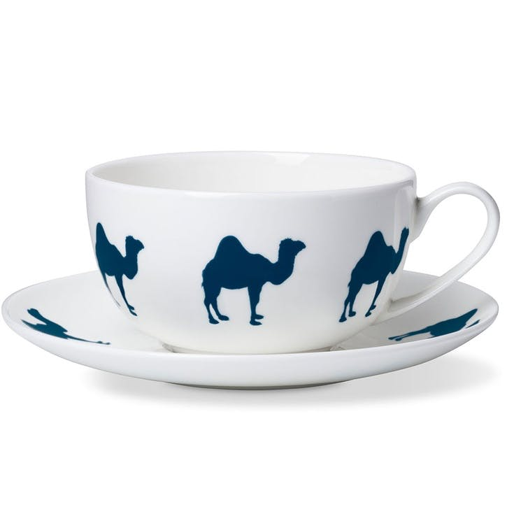 Camel Breakfast Cup & Saucer
