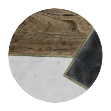 Elements Round Serving Board