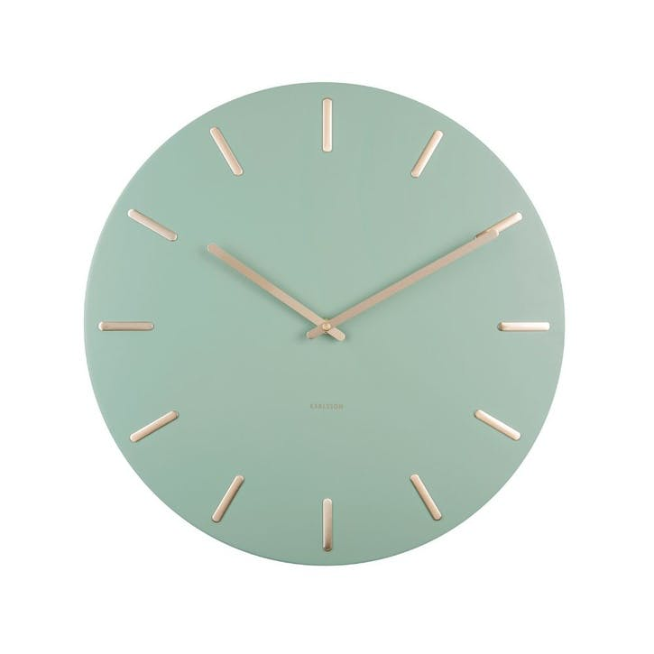 Charm Wall Clock, Green