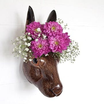 Hare Wall Vase, H15cm