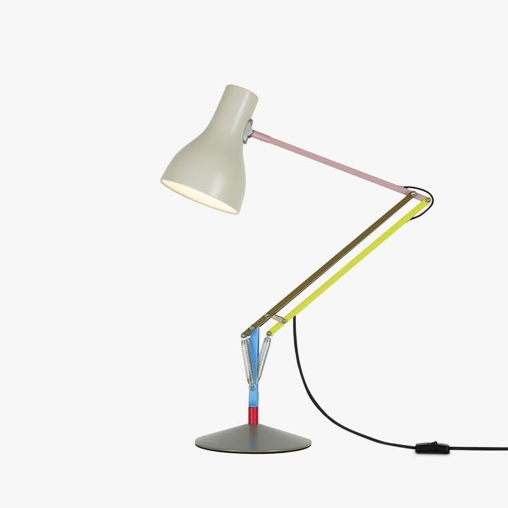 Type 75 Paul Smith Edition 1 Desk Lamp, Multicolours and Cream