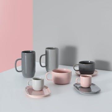 Café Concept Snack Saucer, Pink
