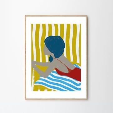 Finales De Agosto - Lentov Art Print D50cm x H70cm