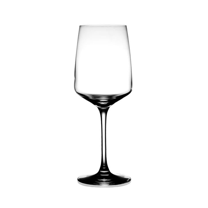 Oreby Red Wine Glass, Set of 6, Clear