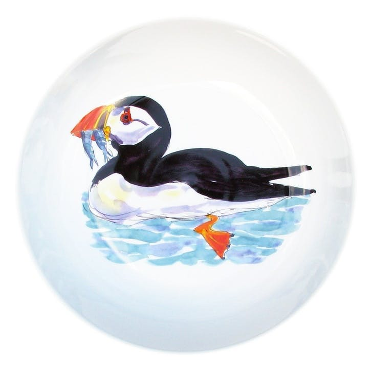 Puffin Swimming Round Bowl - 24cm