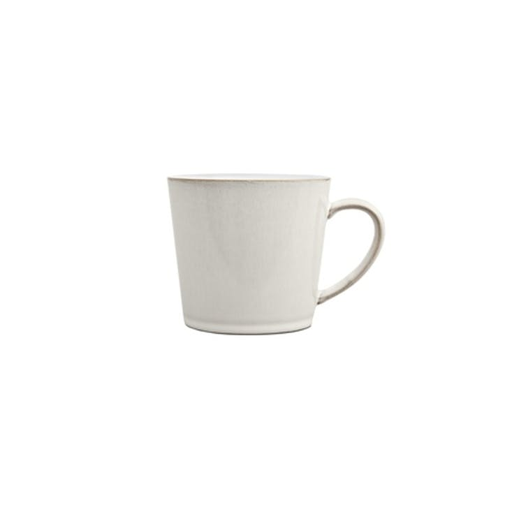 Natural Canvas Large Mug, 300ml, Cream