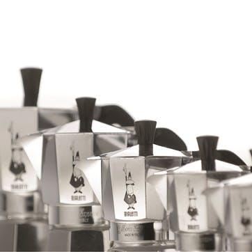 Moka Express Espresso Maker, 3 Cup, Silver