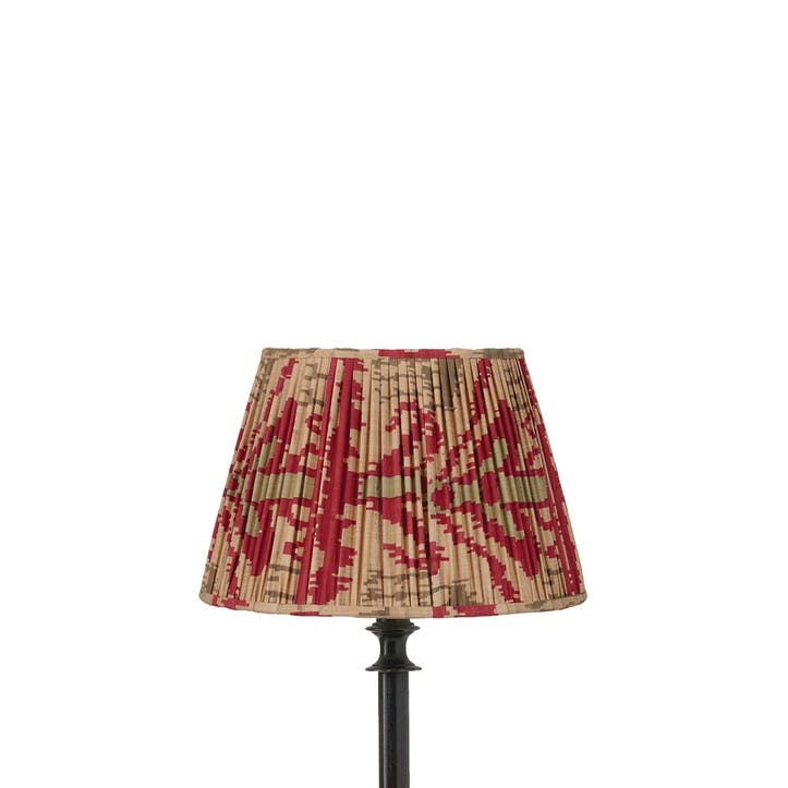 Madura Pleated Empire Lampshade, 25cm
