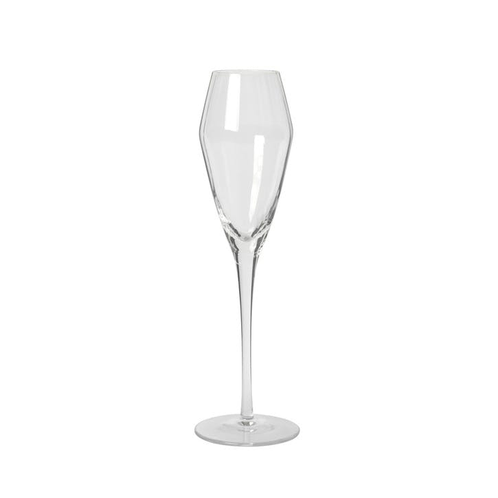 Vara Champagne Flute, Set of 4, Clear