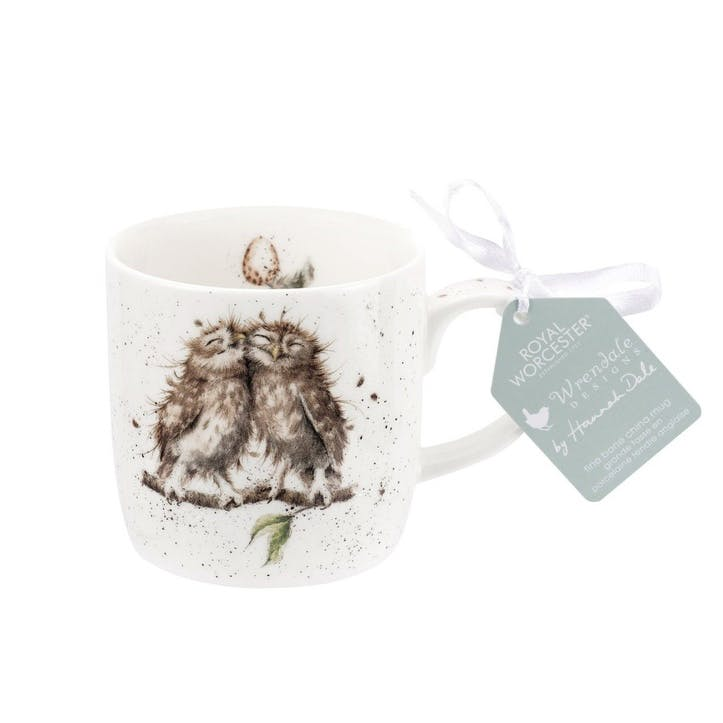 Wrendale Fine Bone China Mug; Birds of a Feather