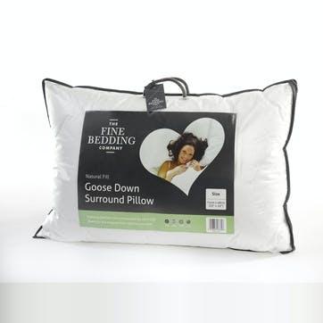 Single Goose Down Surround Pillow