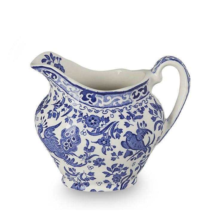 Regal Peacock Cream Jug, 284ml, Blue