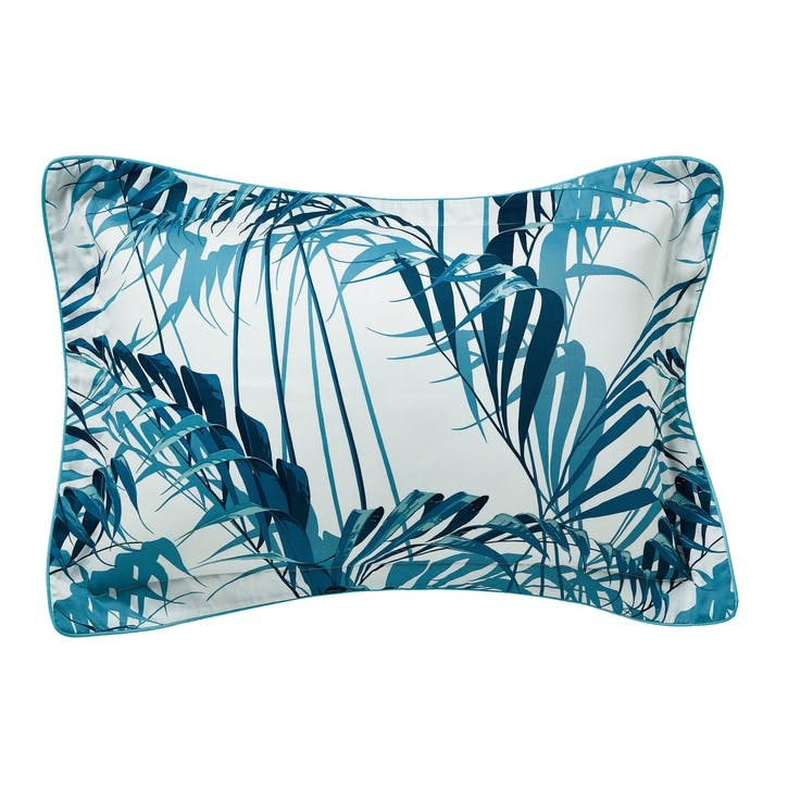 Palm House Oxford Pillowcase, Indigo